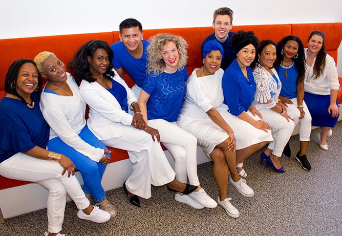 Wazzup singers multicultural gospel choir from Amsterdam